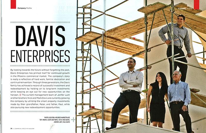 Davis Enterprises Commercial Executive